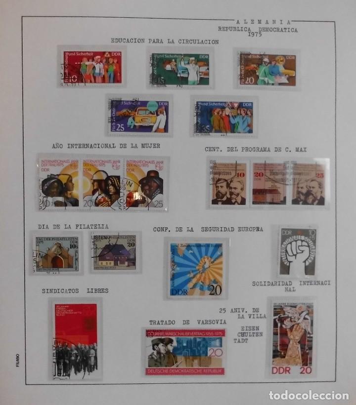 Sellos: COLECCIÓN ALEMANIA ORIENTAL 1948 A 1972, 1973 A 1981 BERLIN, OCCIDENTAL, ALBUM DE SELLOS - Foto 111 - 67324821