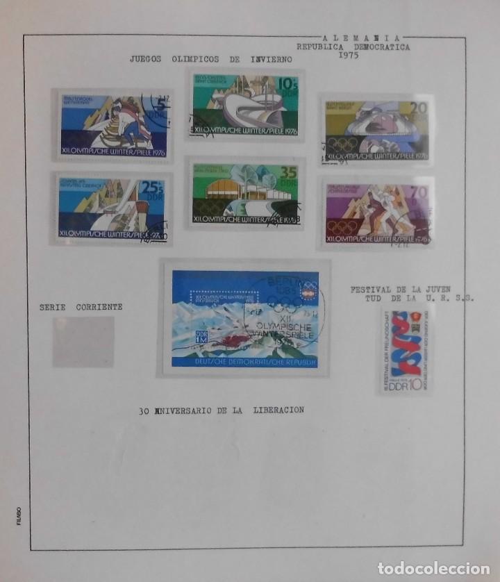 Sellos: COLECCIÓN ALEMANIA ORIENTAL 1948 A 1972, 1973 A 1981 BERLIN, OCCIDENTAL, ALBUM DE SELLOS - Foto 113 - 67324821
