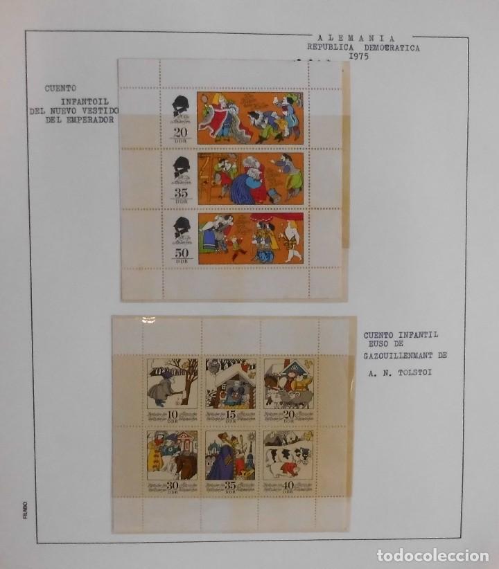 Sellos: COLECCIÓN ALEMANIA ORIENTAL 1948 A 1972, 1973 A 1981 BERLIN, OCCIDENTAL, ALBUM DE SELLOS - Foto 117 - 67324821