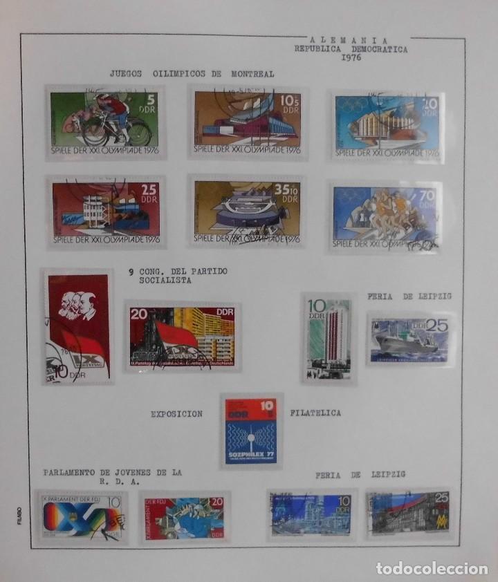 Sellos: COLECCIÓN ALEMANIA ORIENTAL 1948 A 1972, 1973 A 1981 BERLIN, OCCIDENTAL, ALBUM DE SELLOS - Foto 119 - 67324821