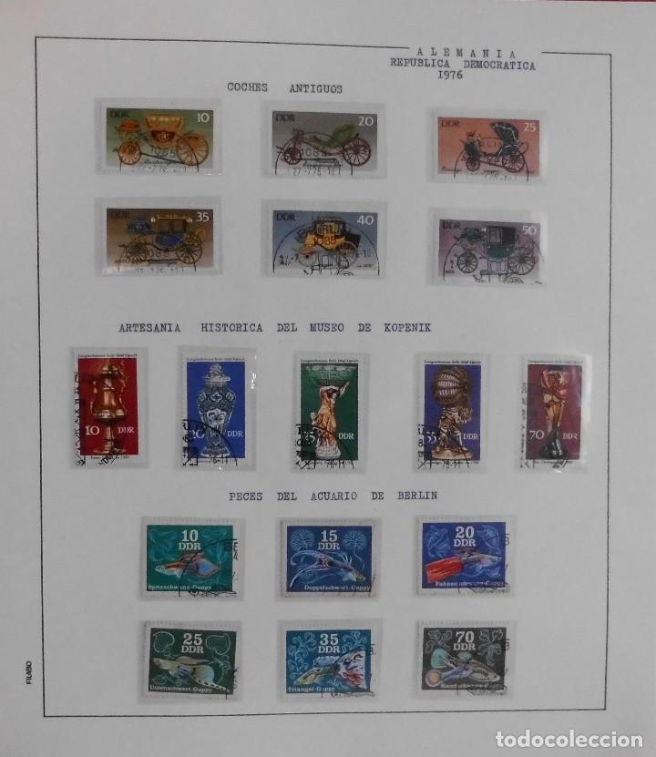 Sellos: COLECCIÓN ALEMANIA ORIENTAL 1948 A 1972, 1973 A 1981 BERLIN, OCCIDENTAL, ALBUM DE SELLOS - Foto 121 - 67324821