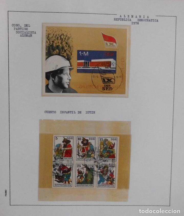 Sellos: COLECCIÓN ALEMANIA ORIENTAL 1948 A 1972, 1973 A 1981 BERLIN, OCCIDENTAL, ALBUM DE SELLOS - Foto 124 - 67324821