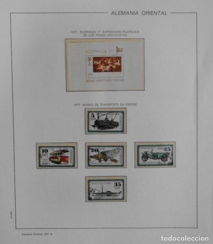 Sellos: COLECCIÓN ALEMANIA ORIENTAL 1948 A 1972, 1973 A 1981 BERLIN, OCCIDENTAL, ALBUM DE SELLOS - Foto 132 - 67324821