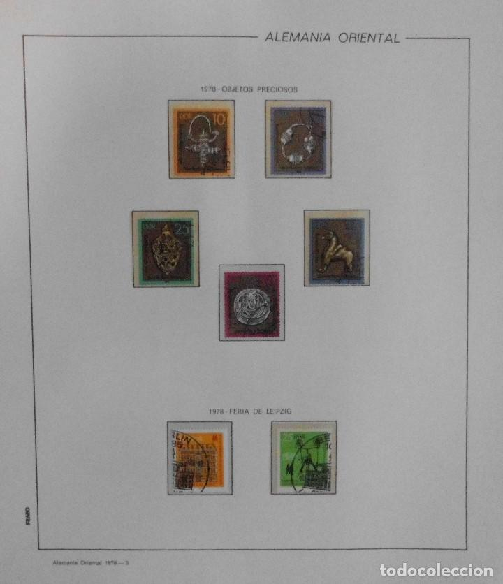 Sellos: COLECCIÓN ALEMANIA ORIENTAL 1948 A 1972, 1973 A 1981 BERLIN, OCCIDENTAL, ALBUM DE SELLOS - Foto 138 - 67324821