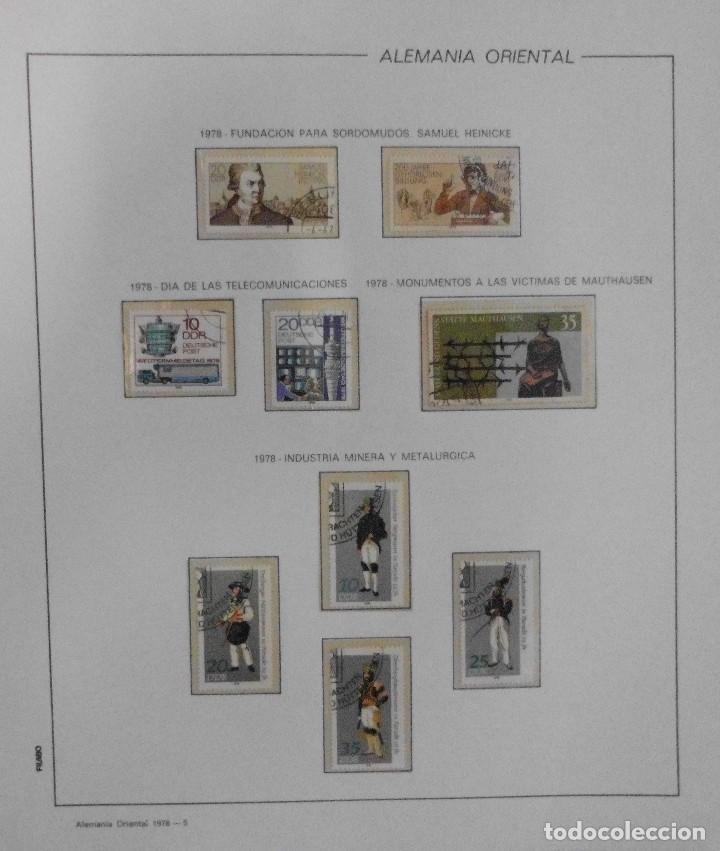 Sellos: COLECCIÓN ALEMANIA ORIENTAL 1948 A 1972, 1973 A 1981 BERLIN, OCCIDENTAL, ALBUM DE SELLOS - Foto 140 - 67324821