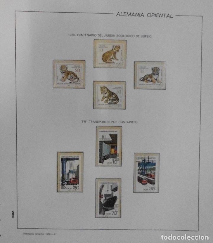 Sellos: COLECCIÓN ALEMANIA ORIENTAL 1948 A 1972, 1973 A 1981 BERLIN, OCCIDENTAL, ALBUM DE SELLOS - Foto 141 - 67324821