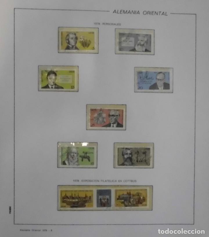 Sellos: COLECCIÓN ALEMANIA ORIENTAL 1948 A 1972, 1973 A 1981 BERLIN, OCCIDENTAL, ALBUM DE SELLOS - Foto 143 - 67324821