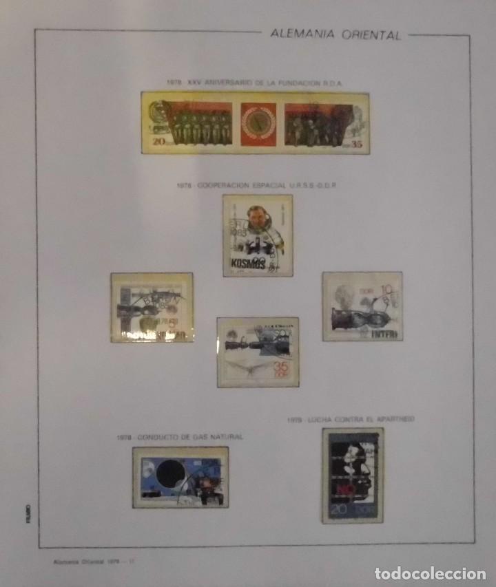 Sellos: COLECCIÓN ALEMANIA ORIENTAL 1948 A 1972, 1973 A 1981 BERLIN, OCCIDENTAL, ALBUM DE SELLOS - Foto 146 - 67324821