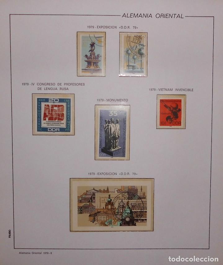 Sellos: COLECCIÓN ALEMANIA ORIENTAL 1948 A 1972, 1973 A 1981 BERLIN, OCCIDENTAL, ALBUM DE SELLOS - Foto 158 - 67324821