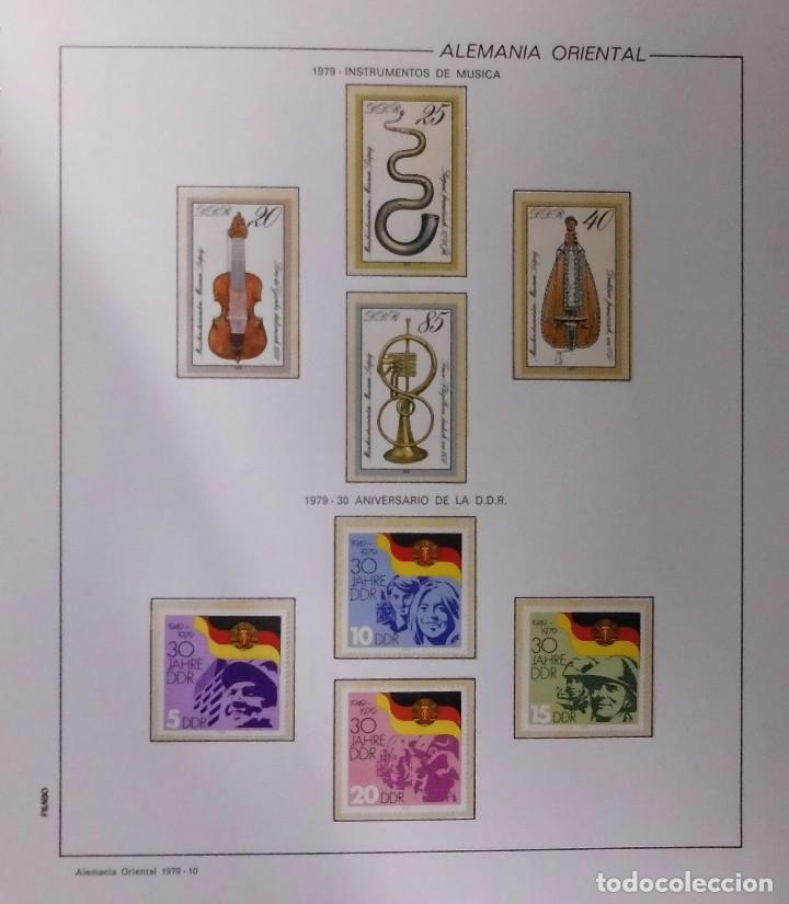 Sellos: COLECCIÓN ALEMANIA ORIENTAL 1948 A 1972, 1973 A 1981 BERLIN, OCCIDENTAL, ALBUM DE SELLOS - Foto 160 - 67324821