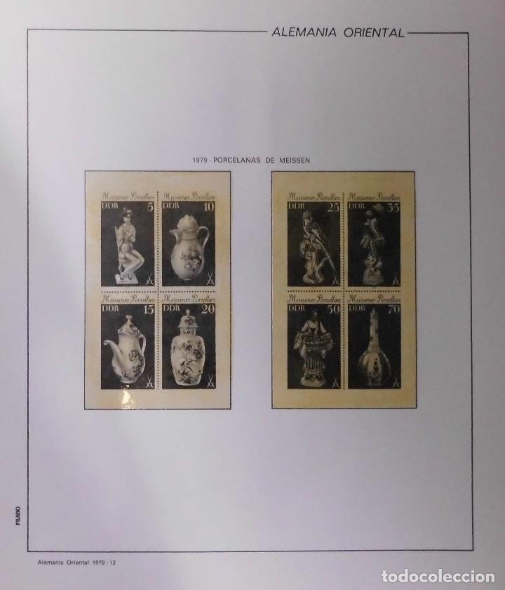 Sellos: COLECCIÓN ALEMANIA ORIENTAL 1948 A 1972, 1973 A 1981 BERLIN, OCCIDENTAL, ALBUM DE SELLOS - Foto 162 - 67324821