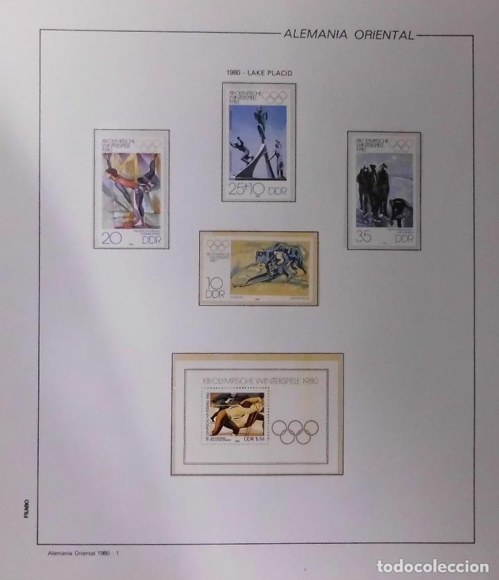 Sellos: COLECCIÓN ALEMANIA ORIENTAL 1948 A 1972, 1973 A 1981 BERLIN, OCCIDENTAL, ALBUM DE SELLOS - Foto 163 - 67324821