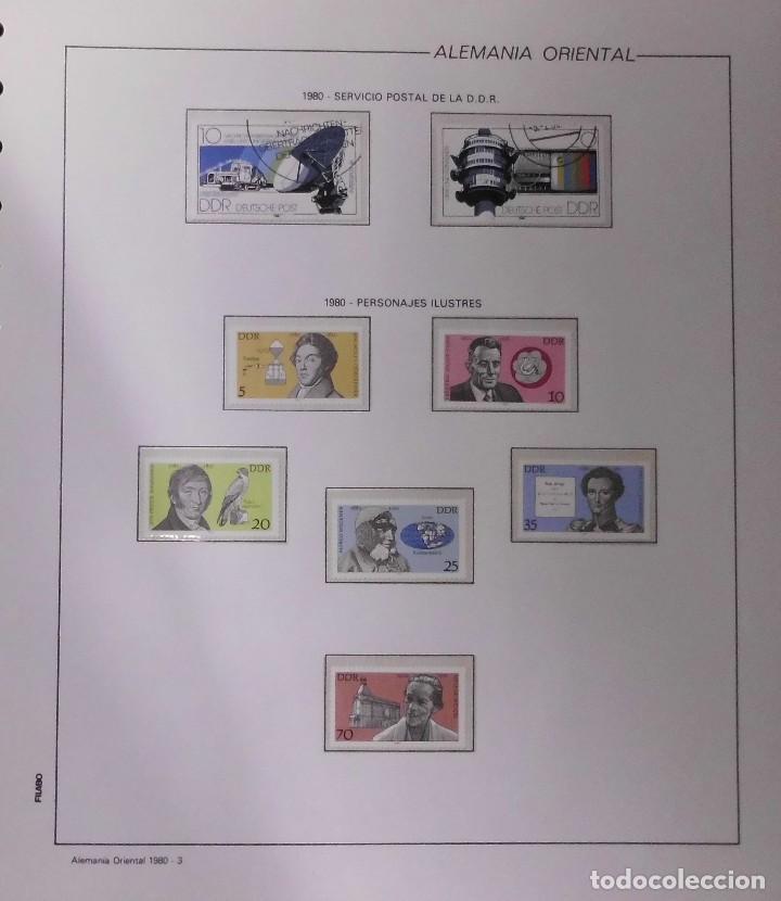 Sellos: COLECCIÓN ALEMANIA ORIENTAL 1948 A 1972, 1973 A 1981 BERLIN, OCCIDENTAL, ALBUM DE SELLOS - Foto 165 - 67324821