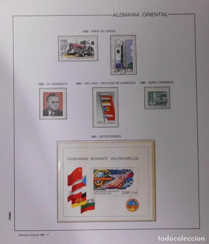 Sellos: COLECCIÓN ALEMANIA ORIENTAL 1948 A 1972, 1973 A 1981 BERLIN, OCCIDENTAL, ALBUM DE SELLOS - Foto 166 - 67324821