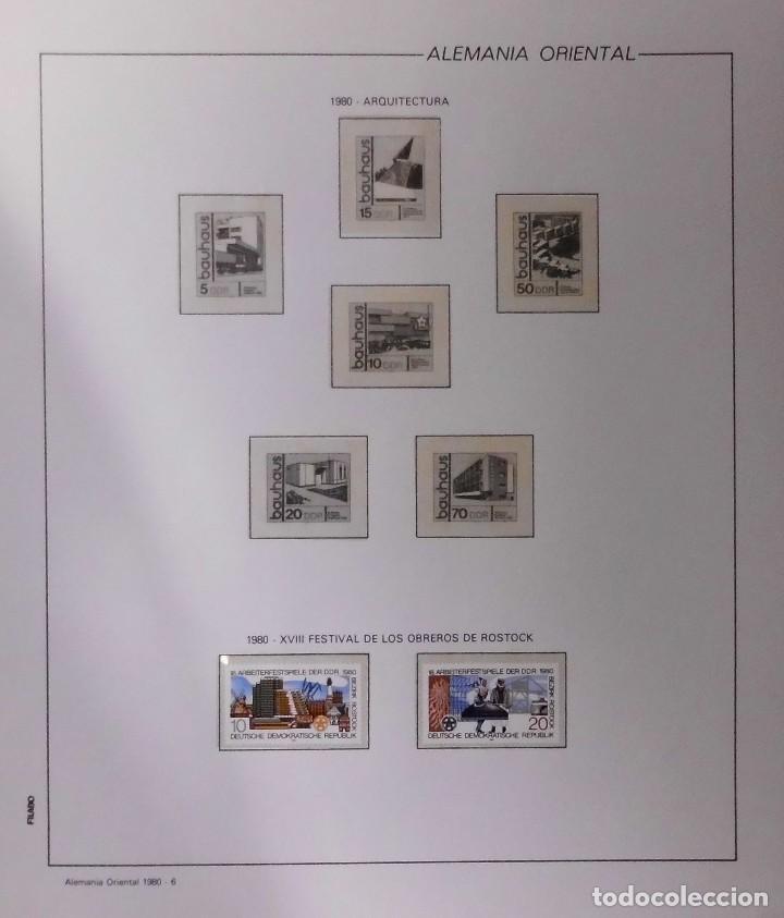 Sellos: COLECCIÓN ALEMANIA ORIENTAL 1948 A 1972, 1973 A 1981 BERLIN, OCCIDENTAL, ALBUM DE SELLOS - Foto 168 - 67324821