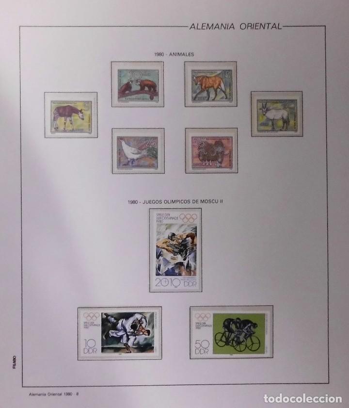 Sellos: COLECCIÓN ALEMANIA ORIENTAL 1948 A 1972, 1973 A 1981 BERLIN, OCCIDENTAL, ALBUM DE SELLOS - Foto 170 - 67324821