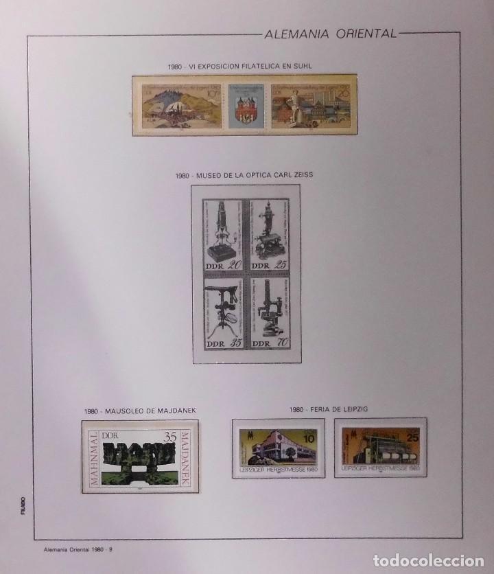 Sellos: COLECCIÓN ALEMANIA ORIENTAL 1948 A 1972, 1973 A 1981 BERLIN, OCCIDENTAL, ALBUM DE SELLOS - Foto 171 - 67324821