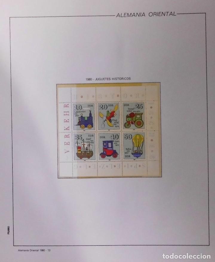 Sellos: COLECCIÓN ALEMANIA ORIENTAL 1948 A 1972, 1973 A 1981 BERLIN, OCCIDENTAL, ALBUM DE SELLOS - Foto 175 - 67324821