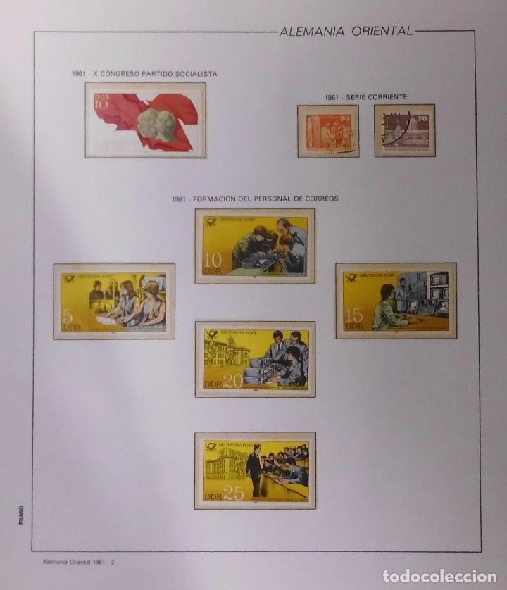 Sellos: COLECCIÓN ALEMANIA ORIENTAL 1948 A 1972, 1973 A 1981 BERLIN, OCCIDENTAL, ALBUM DE SELLOS - Foto 177 - 67324821