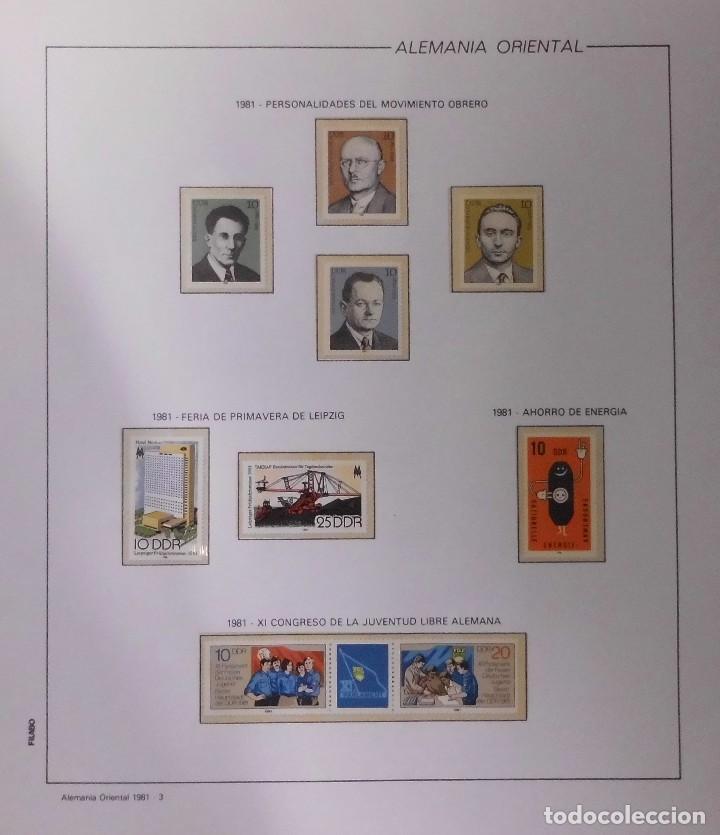 Sellos: COLECCIÓN ALEMANIA ORIENTAL 1948 A 1972, 1973 A 1981 BERLIN, OCCIDENTAL, ALBUM DE SELLOS - Foto 178 - 67324821
