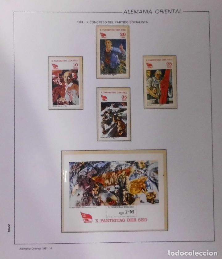 Sellos: COLECCIÓN ALEMANIA ORIENTAL 1948 A 1972, 1973 A 1981 BERLIN, OCCIDENTAL, ALBUM DE SELLOS - Foto 179 - 67324821