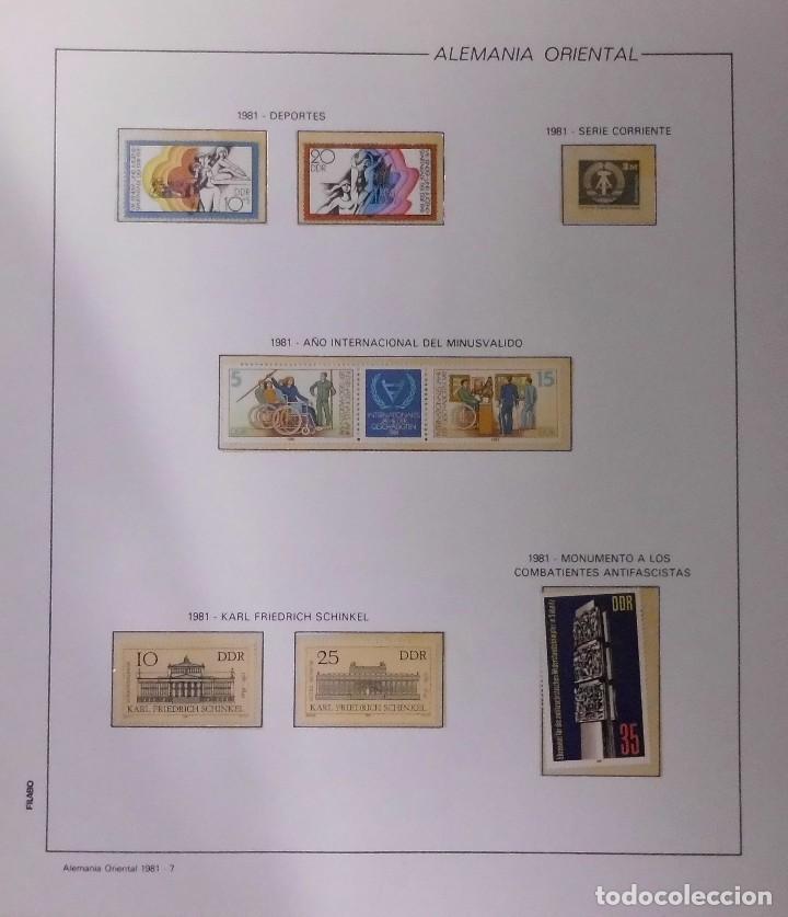 Sellos: COLECCIÓN ALEMANIA ORIENTAL 1948 A 1972, 1973 A 1981 BERLIN, OCCIDENTAL, ALBUM DE SELLOS - Foto 182 - 67324821