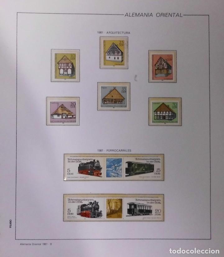 Sellos: COLECCIÓN ALEMANIA ORIENTAL 1948 A 1972, 1973 A 1981 BERLIN, OCCIDENTAL, ALBUM DE SELLOS - Foto 183 - 67324821