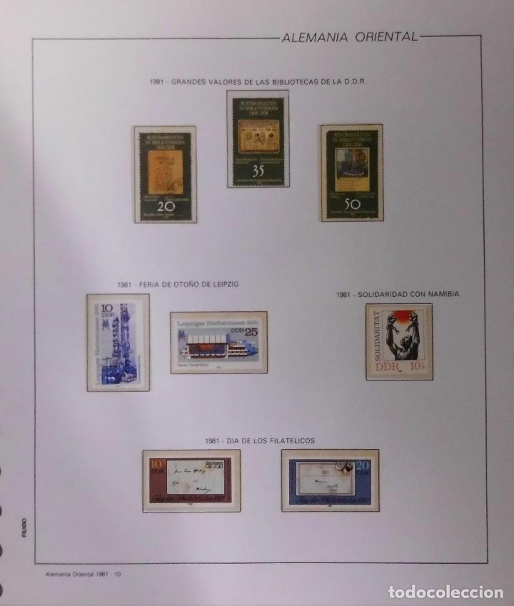 Sellos: COLECCIÓN ALEMANIA ORIENTAL 1948 A 1972, 1973 A 1981 BERLIN, OCCIDENTAL, ALBUM DE SELLOS - Foto 185 - 67324821