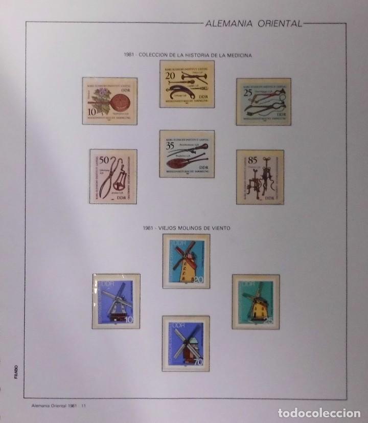 Sellos: COLECCIÓN ALEMANIA ORIENTAL 1948 A 1972, 1973 A 1981 BERLIN, OCCIDENTAL, ALBUM DE SELLOS - Foto 186 - 67324821