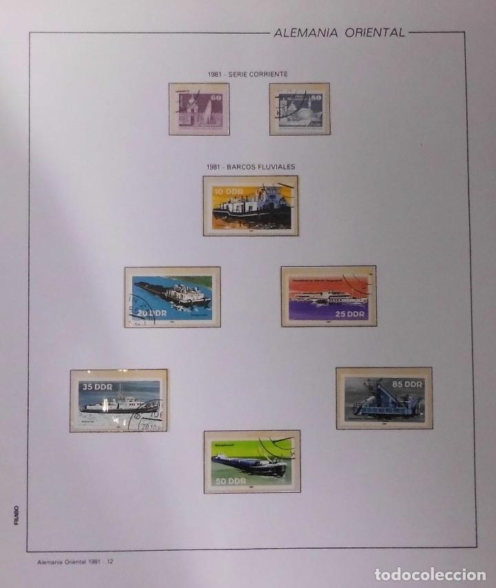 Sellos: COLECCIÓN ALEMANIA ORIENTAL 1948 A 1972, 1973 A 1981 BERLIN, OCCIDENTAL, ALBUM DE SELLOS - Foto 187 - 67324821