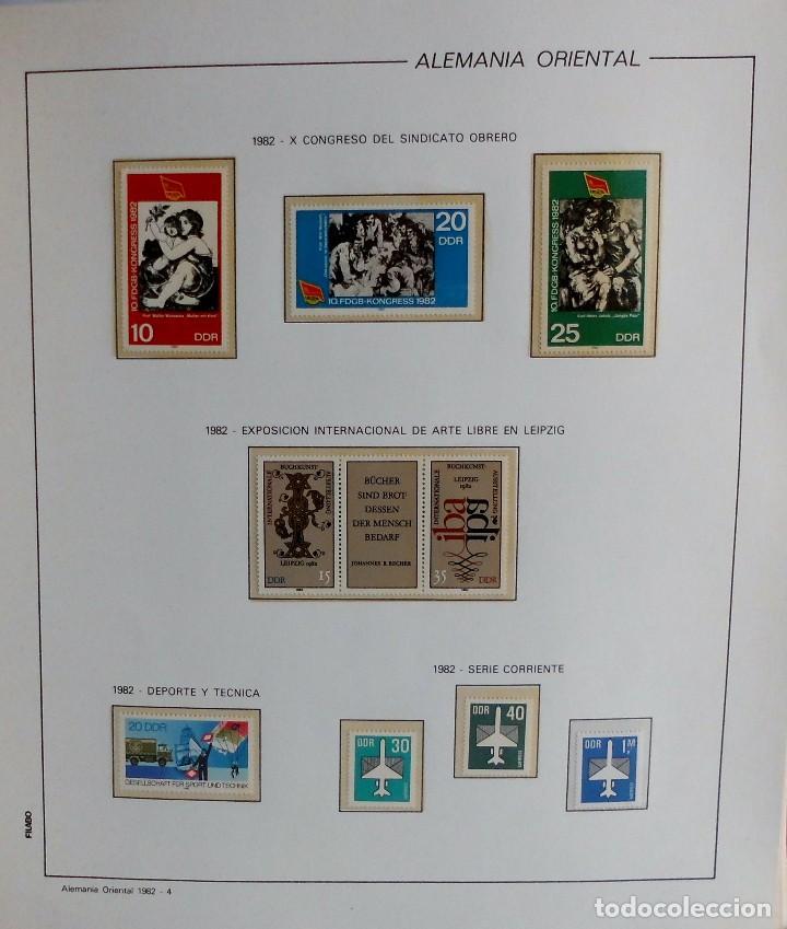 Sellos: COLECCIÓN ALEMANIA ORIENTAL 1948 A 1972, 1973 A 1981 BERLIN, OCCIDENTAL, ALBUM DE SELLOS - Foto 193 - 67324821