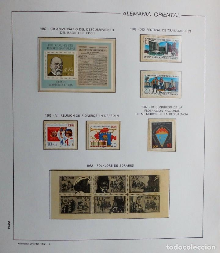 Sellos: COLECCIÓN ALEMANIA ORIENTAL 1948 A 1972, 1973 A 1981 BERLIN, OCCIDENTAL, ALBUM DE SELLOS - Foto 195 - 67324821