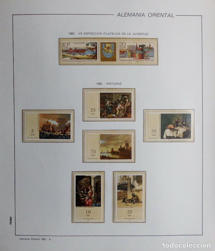 Sellos: COLECCIÓN ALEMANIA ORIENTAL 1948 A 1972, 1973 A 1981 BERLIN, OCCIDENTAL, ALBUM DE SELLOS - Foto 197 - 67324821