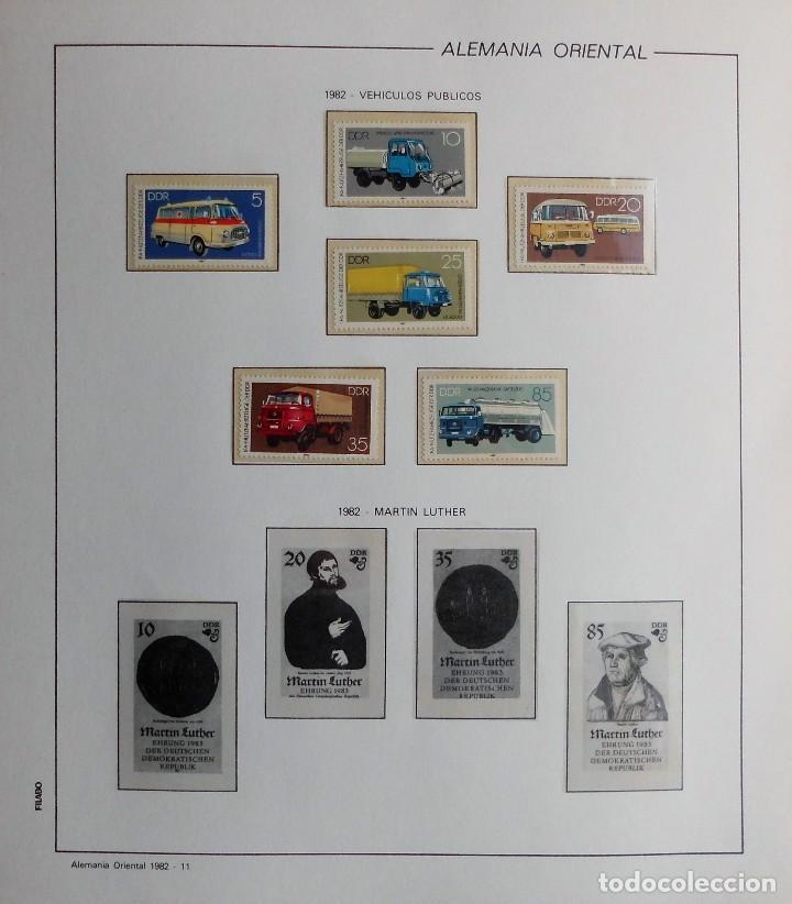Sellos: COLECCIÓN ALEMANIA ORIENTAL 1948 A 1972, 1973 A 1981 BERLIN, OCCIDENTAL, ALBUM DE SELLOS - Foto 200 - 67324821
