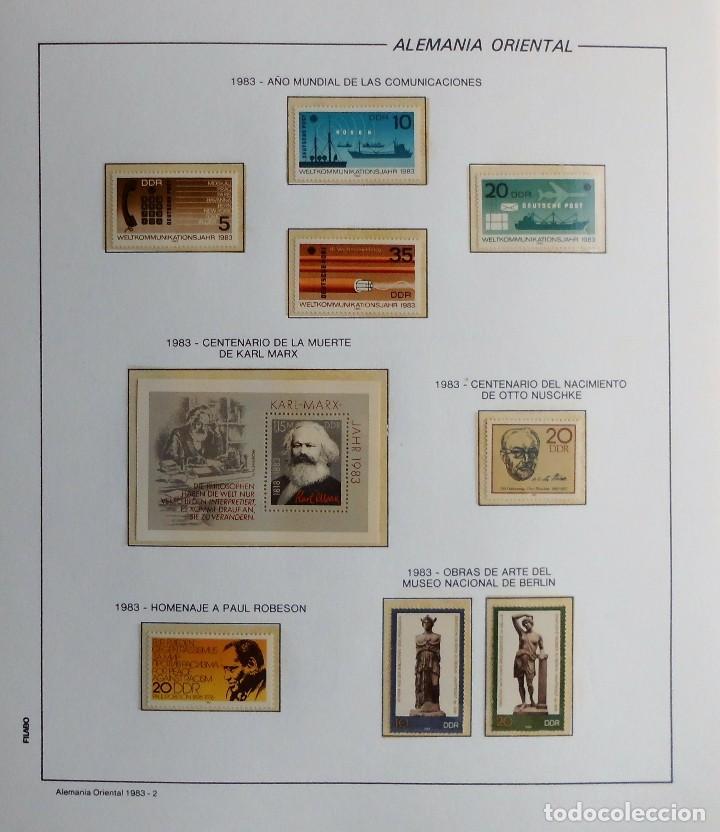 Sellos: COLECCIÓN ALEMANIA ORIENTAL 1948 A 1972, 1973 A 1981 BERLIN, OCCIDENTAL, ALBUM DE SELLOS - Foto 202 - 67324821
