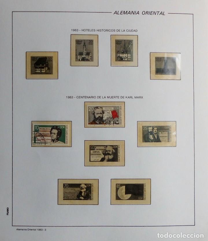 Sellos: COLECCIÓN ALEMANIA ORIENTAL 1948 A 1972, 1973 A 1981 BERLIN, OCCIDENTAL, ALBUM DE SELLOS - Foto 203 - 67324821