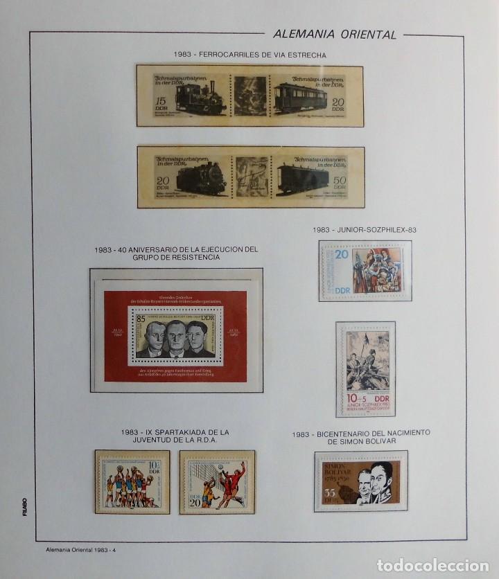 Sellos: COLECCIÓN ALEMANIA ORIENTAL 1948 A 1972, 1973 A 1981 BERLIN, OCCIDENTAL, ALBUM DE SELLOS - Foto 204 - 67324821