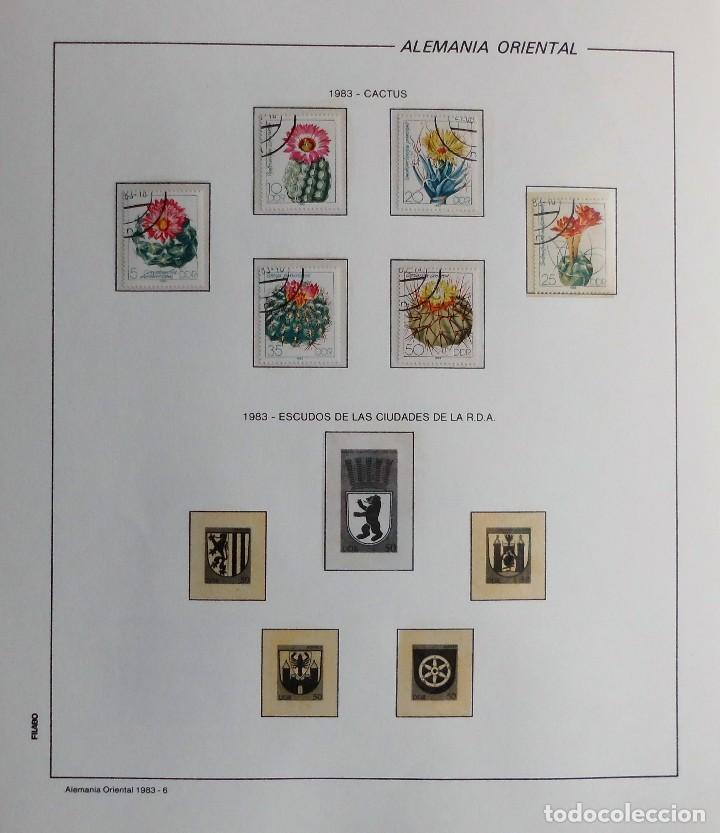 Sellos: COLECCIÓN ALEMANIA ORIENTAL 1948 A 1972, 1973 A 1981 BERLIN, OCCIDENTAL, ALBUM DE SELLOS - Foto 206 - 67324821
