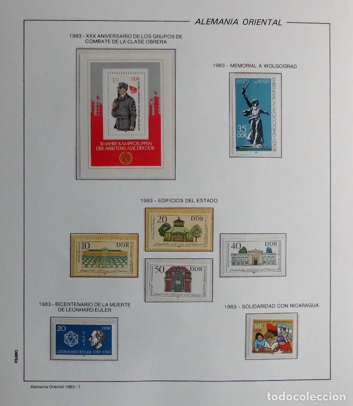 Sellos: COLECCIÓN ALEMANIA ORIENTAL 1948 A 1972, 1973 A 1981 BERLIN, OCCIDENTAL, ALBUM DE SELLOS - Foto 207 - 67324821