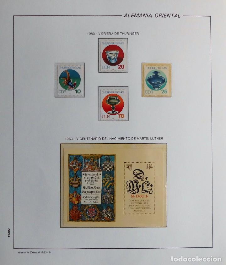 Sellos: COLECCIÓN ALEMANIA ORIENTAL 1948 A 1972, 1973 A 1981 BERLIN, OCCIDENTAL, ALBUM DE SELLOS - Foto 208 - 67324821