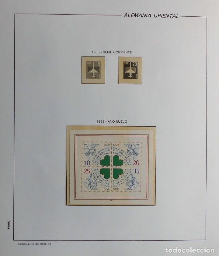 Sellos: COLECCIÓN ALEMANIA ORIENTAL 1948 A 1972, 1973 A 1981 BERLIN, OCCIDENTAL, ALBUM DE SELLOS - Foto 210 - 67324821