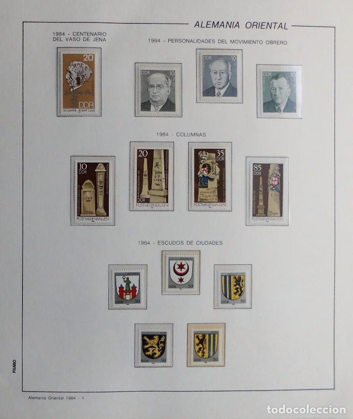 Sellos: COLECCIÓN ALEMANIA ORIENTAL 1948 A 1972, 1973 A 1981 BERLIN, OCCIDENTAL, ALBUM DE SELLOS - Foto 211 - 67324821