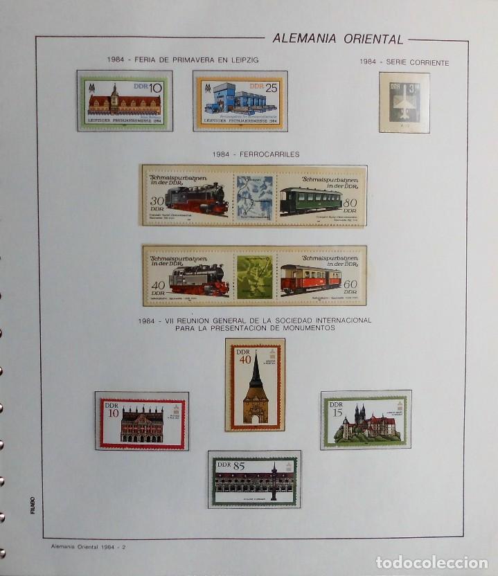 Sellos: COLECCIÓN ALEMANIA ORIENTAL 1948 A 1972, 1973 A 1981 BERLIN, OCCIDENTAL, ALBUM DE SELLOS - Foto 212 - 67324821
