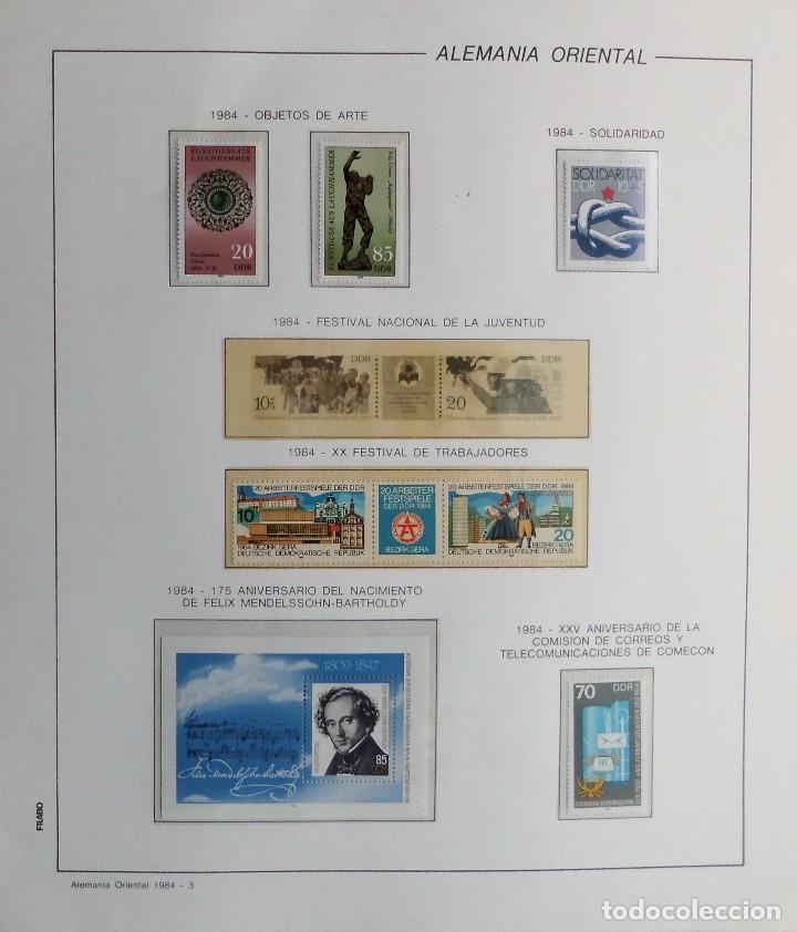Sellos: COLECCIÓN ALEMANIA ORIENTAL 1948 A 1972, 1973 A 1981 BERLIN, OCCIDENTAL, ALBUM DE SELLOS - Foto 213 - 67324821