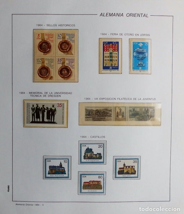 Sellos: COLECCIÓN ALEMANIA ORIENTAL 1948 A 1972, 1973 A 1981 BERLIN, OCCIDENTAL, ALBUM DE SELLOS - Foto 215 - 67324821