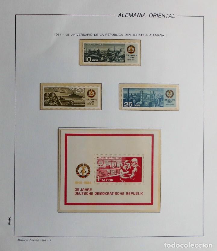 Sellos: COLECCIÓN ALEMANIA ORIENTAL 1948 A 1972, 1973 A 1981 BERLIN, OCCIDENTAL, ALBUM DE SELLOS - Foto 217 - 67324821