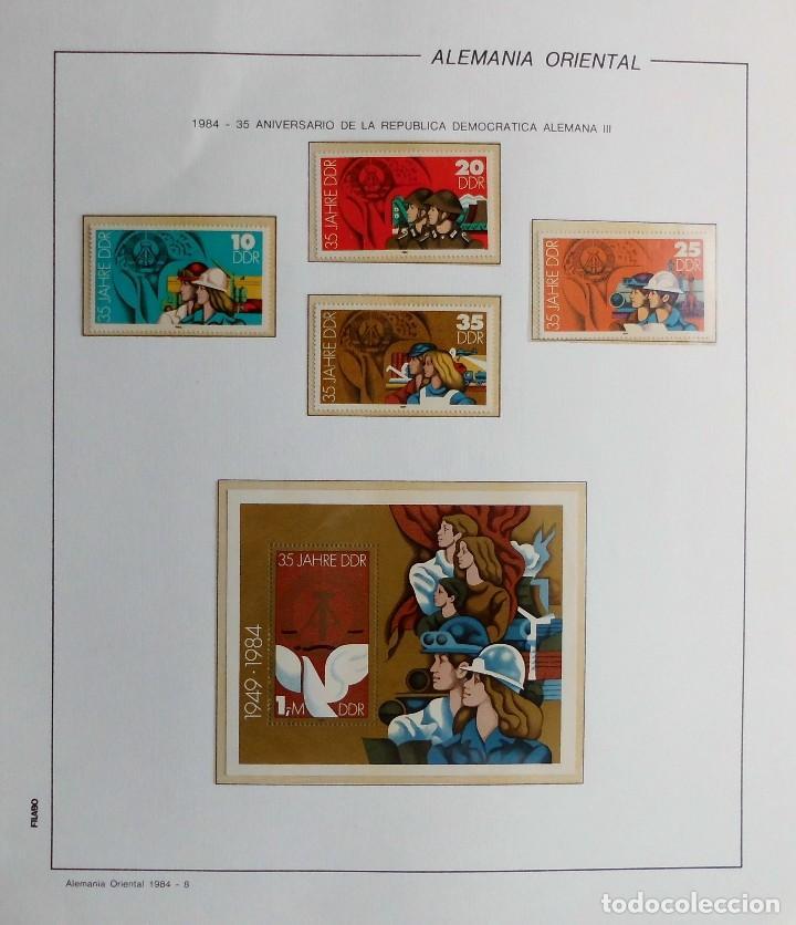 Sellos: COLECCIÓN ALEMANIA ORIENTAL 1948 A 1972, 1973 A 1981 BERLIN, OCCIDENTAL, ALBUM DE SELLOS - Foto 218 - 67324821