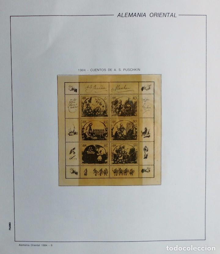Sellos: COLECCIÓN ALEMANIA ORIENTAL 1948 A 1972, 1973 A 1981 BERLIN, OCCIDENTAL, ALBUM DE SELLOS - Foto 219 - 67324821