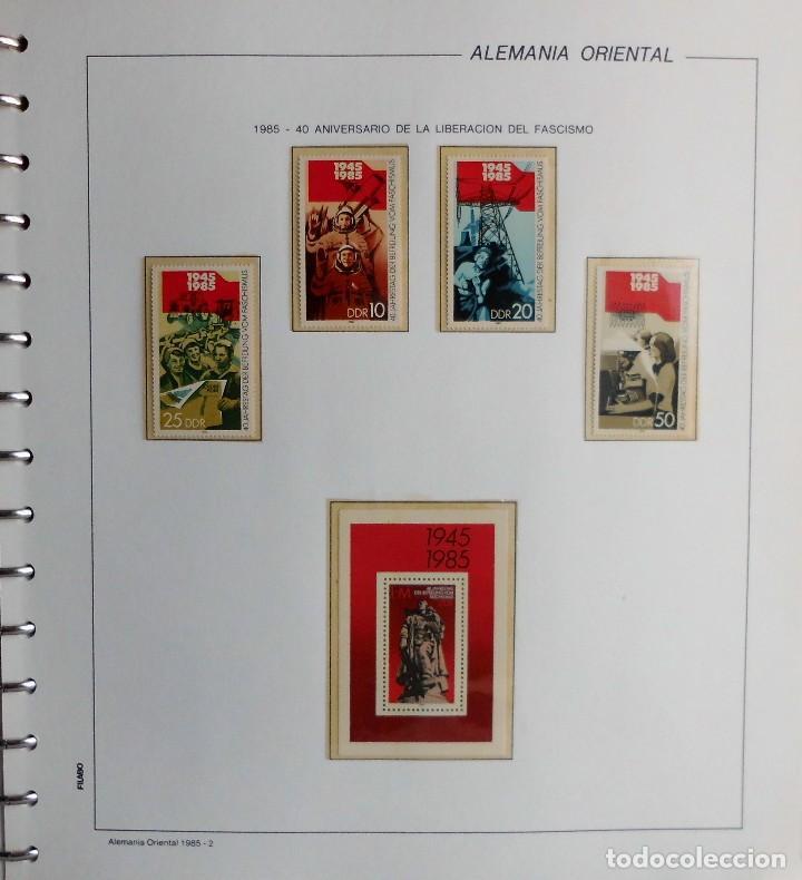 Sellos: COLECCIÓN ALEMANIA ORIENTAL 1948 A 1972, 1973 A 1981 BERLIN, OCCIDENTAL, ALBUM DE SELLOS - Foto 221 - 67324821