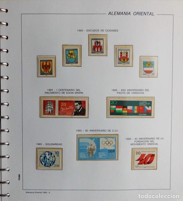 Sellos: COLECCIÓN ALEMANIA ORIENTAL 1948 A 1972, 1973 A 1981 BERLIN, OCCIDENTAL, ALBUM DE SELLOS - Foto 222 - 67324821